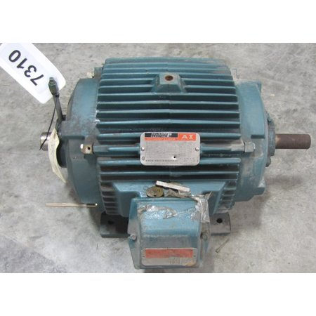 Used Reliance Duty Master 7 5 Hp Motor 254u Frame 3540