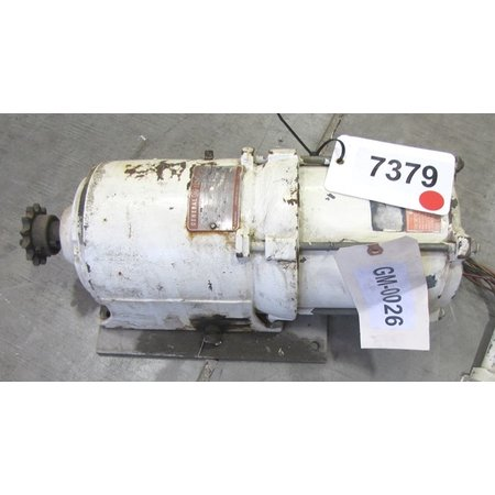 Used 1 2 hp general electric gear motor 38 4 1 for 100 hp electric motor price