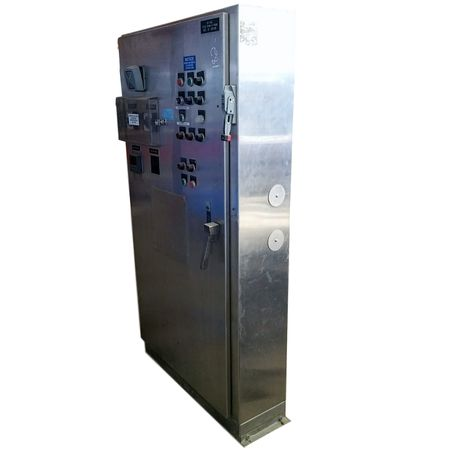 used stainless steel electrical cabinet enclosure ebay