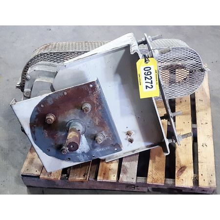 conveyor belt shaft screw link drive mounted hp used speed