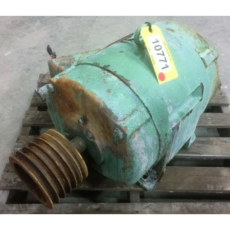 Used 15 hp allis chalmers induction motor 324u frame 1160 for Allis chalmers electric motor