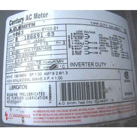 Gear Motors Item 10987 (Photo04)