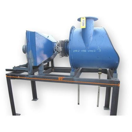 20 Hp Used Spencer Dust Collection System Central Vacuum