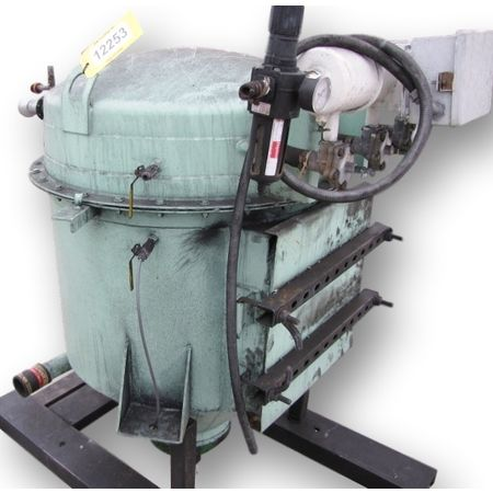 Used horizon systems filter receiver dust collector with for Portable dust collector motor blower