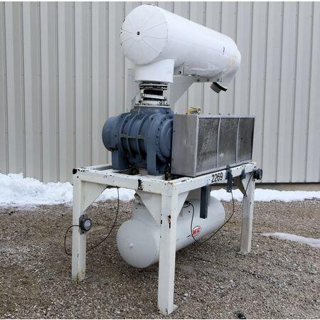 75 Hp Used Mac Sutorbilt Gardner Denver Blower 812 4500