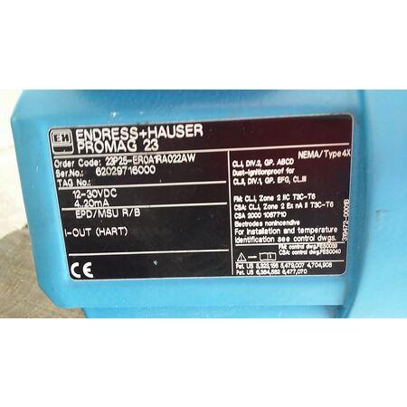 Endress Hauser Promag P Manual
