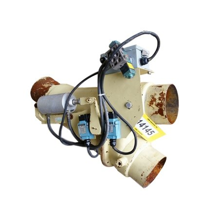 Used Pneumatic Conveying Diverter Valves