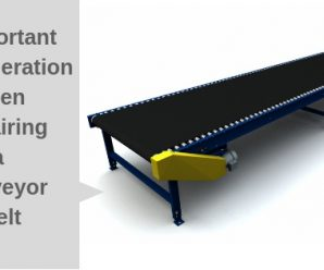 4 Important Considerations for a Conveyor Belt Repair