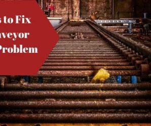 How to Troubleshoot Conveyor Belt Problems