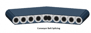 Conveyor Belt Ends Joined