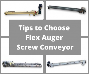 How to Choose Right Flex Auger Screw Conveyor Based on Your Application?