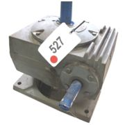 7.5  HP Boston Gear Right Angle Speed Reducer