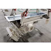 "6"" wide X 48"" long Stainless Steel Vibranetics Vibrating Pan Feeder"