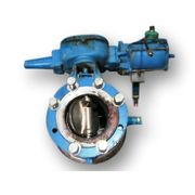 "6"" DEZURIK BUTTERFLY VALVE WITH PNEUMATIC ACTUATOR"