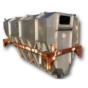 Used Mac Stainless Steel Surge Bin Hopper