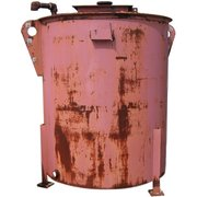 USED 743 GALLON CARBON STEEL TANK
