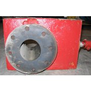 "4"" RED VALVE CO. MANUAL PINCH VALVE"