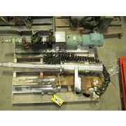 USED 3 HP HOMOGENIZER PUMP, STAINLESS STEEL