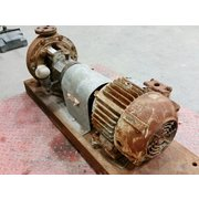 Used 3HP Goulds STX Process Pump Model 3196 1x1x-8