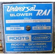 3  HP Used Roots Dresser Blower Package Model 24 Urai