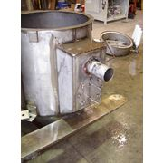 Used Stainless Steel Pneumatic Filter Receiver