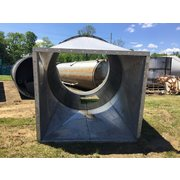 1300 Cubic Foot Aluminum Bin And 9 Ft. Diameter Cyclone