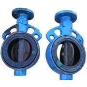 "USED 4"" KV BUTTERFLY VALVE, NO ACTUATOR"