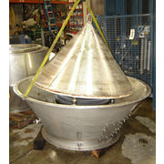 "Used 60"" MATCON BULS STAINLESS STEEL DISCHARGE VALVE"