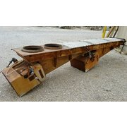 "Used 24"" Wide X 14' Long Eriez Electro-Magnetic Vibrating Feeder Conveyor"