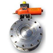 "6"" DIAMETER GEMCO STAINLESS STEEL SPHERICAL VALVE"