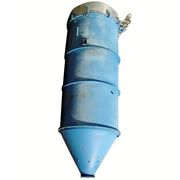 2500 CFM Used Rage Cylindrical Pulse Jet Dust Collector, 1,258 Sq. Ft.