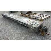 "12"" Dia X 15' 8"" Stainless Steel Screw Conveyor Trough [PARTS]"