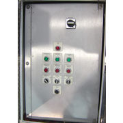 Used NEMA 4 Electrical Enclosure Stainless Steel Systems Control Box