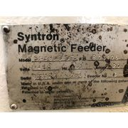 "Used FMC Syntron Magnetic Feeder Stainless Steel Screener 24"" wide X 48"" long"