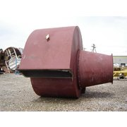 "15,000 CFM Used Airecon Horizontal Cyclone 76"" Diameter"