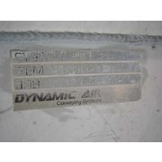 800 CFM Dynamic Air Series 343 Bin Vent Filter, 900 Sq Ft