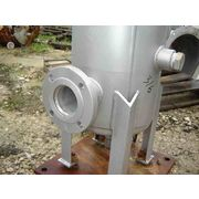 "Used 3"" Fulflo Stainless Cartridge Type Filter Vessel"