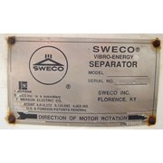 "Sweco Base For 48"" Dia. Separator (Parts Only)"