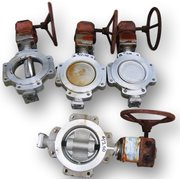 "8"" DURCO MANUAL BUTTERFLY VALVE, STAINLESS STEEL"
