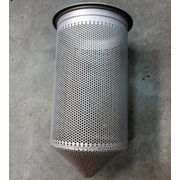 "Used 2"" FSI Filter Specialists Inc Stainless Steel Bag Filter"