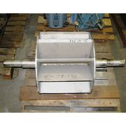 "16"" DIA HEAVY DUTY AIRLOCK STAINLESS STEEL ROTARY VALVE"