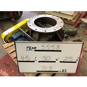"Used 12"" dia. General Resource Isomatic Stainless Steel Rotary Airlock Valve"