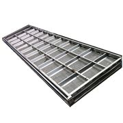 "40"" X 120"" Stainless Steel Rotex Used Upper Deck Screen Frame"