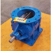 "10"" DIA. ISOMATIC GENERAL RESOURCE ROTARY VALVE USED"