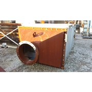 1944 Sq Ft Munters Des Champs Heat Exchanger Model 81mu1703450-bab