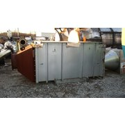 Used 1944 Sq Ft Munters Des Champs Heat Exchanger Thermo-T