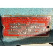 Used 100 GPM Goulds Pump Package, Model 3655