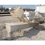 "18"" W X 7'-6"" LONG CARRIER STAINLESS VIBRATING CONVEYOR"