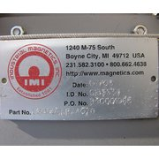 "6"" IMI INDUSTRIAL MAGNETICS RARE EARTH MAGNET STAINLESS"