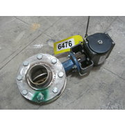 "4"" BUTTERFLY VALVE WITH AUTOMATIC ACTUATOR, USED"